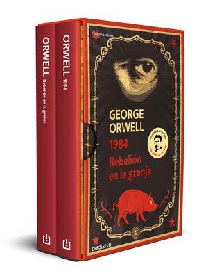 GEORGE ORWELL (PACK CON LAS EDICIONES DEFINITIVAS AVALADAS POR THE ORWELL ESTATE