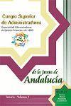 TEMARIO VOL. V CUERPO SUPERIOR ADMINISTRADORES JUNTA ANDALUCIA 2005