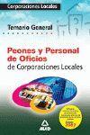 PEONES Y PERSONAL DE OFICIOS CORPORACIONES LOCALES TEMARIO