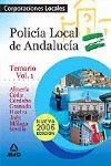 POLICIA LOCAL DE ANDALUCIA TOMO 1º