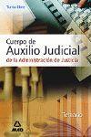 CUERPO DE AUXILIO JUDICIAL ADMINISTRACION DE JUSTICIA  LIBRE 2006
