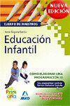 COMO HACER PROGRAMACION 10 EDUCACION INFANTIL