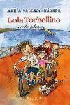 LOLA TORBELLINO EN LA PLAYA