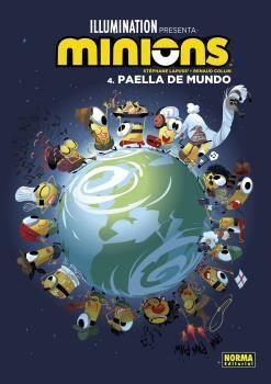 LOS MINIONS 4. PAELLA DE MUNDO