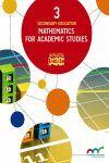 MATHEMATICS FOR ACADEMIC STUDIES 3.
