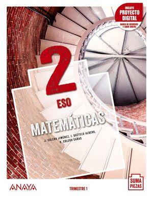 MATEMÁTICAS 2. TRIMESTRES