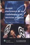 ACCESO ELECTRONICO DE LOS CIUDADANOS A LOS SERVICI
