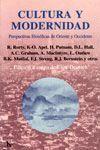 CULTURA Y MODERNIDAD. PERSPECTIVAS FILOSOFICAS DE ORIENTE Y OCCIDENTE