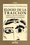 ELOGIO DE LA TRAICION