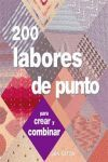 200 LABORES DE PUNTO
