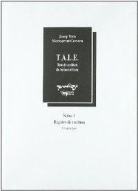 TALE  3 SOBRE