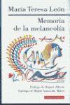 MEMORIA DE LA MELANCOLÍA ( MARIA TERESA LEÓN )
