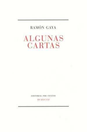 ALGUNAS CARTAS