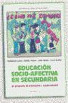 EDUCACION SOCIO-AFECTIVA EN SECUNDARIA
