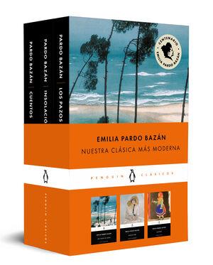 EMILIA PARDO BAZÁN (PACK QUE INCLUYE: CUENTOS  LOS PAZOS DE ULLOA  INSOLACIÓN)