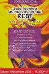 GUIA TECNICA DEL REBT REV 2ª SEP 2004
