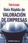 GUIA RAPIDA DE VALORACION DE EMPRESAS