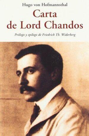 CARTA DE LORD CHANDOS CEN -59