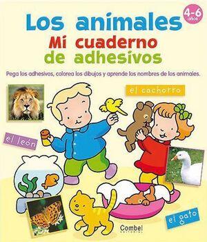 ANIMALES LOS CUADERNO DE ADHESIVOS