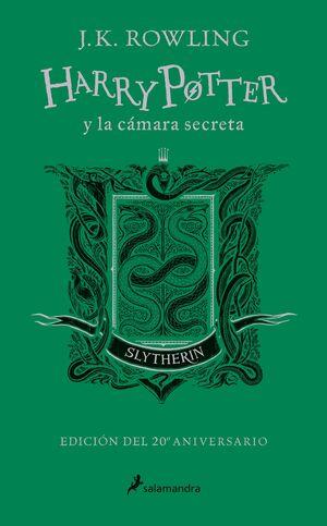 HARRY POTTER Y LA CÁMARA SECRETA. SLYTHERIN. VERDE