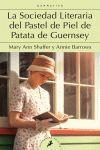 LA SOCIEDAD LITERARIA DEL PASTEL DE PIEL DE PATATA DE GUERNSEY  LB