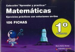 MATEMÁTICAS 1º DE PRIMARIA  EJERCICIOS PRÁCTICOS CON SOLUCIONES ONLINE