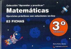 MATEMÁTICAS 3º PRIMARIA EJERCICIOS PRÁCTICOS CON SOLUCIONES ONLINE